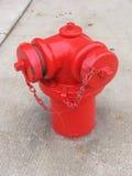 pożarniczego hydranta czerwień Obraz Royalty Free
