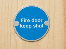pożarniczego talerza bezpieczeństwo Fotografia Stock