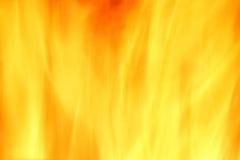 Pożarniczy żółty abstrakcjonistyczny tło Zdjęcia Royalty Free