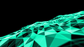 Pożarniczy abstact błękita tło Wybuchu koloru 3D ilustracja Obraz Royalty Free