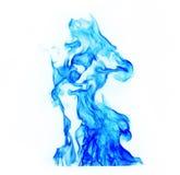 pożarniczy błękit płomienie obrazy royalty free
