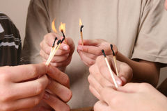 pożarniczy bawić się Obrazy Stock