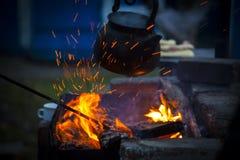 pożarniczy czajnik obrazy royalty free