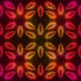 Pożarniczy czerwony wektorowy abstrakcjonistyczny bezszwowy wzór Obraz Stock