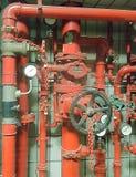 Pożarniczy dźwignik Zdjęcie Stock