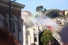 pożarniczy Francisco mieści San Zdjęcia Royalty Free
