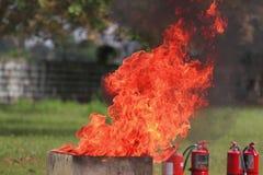 Pożarniczy gasidła Obrazy Royalty Free