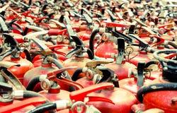 Pożarniczy gasidło używać Obraz Stock
