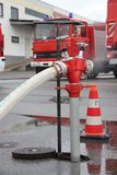 Pożarniczy Hidrant Zdjęcie Royalty Free