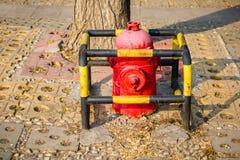 Pożarniczy hydrant fotografia stock