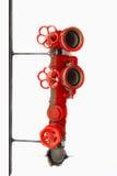 Pożarniczy hydrant zdjęcie royalty free