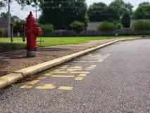 Pożarniczy hydrant Memphis, TN zdjęcie stock