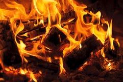Pożarniczy miejsce zdjęcie stock