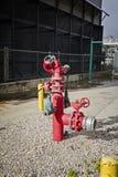 Pożarniczy monitor dla przemysłu Obraz Royalty Free