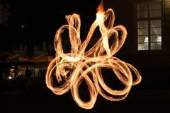 Pożarniczy oświetlenie Zdjęcia Stock