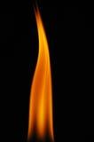 pożarniczy płomień Obraz Royalty Free