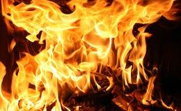 pożarniczy płomień obrazy stock