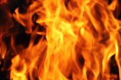 Pożarniczy płomienia tło Fotografia Royalty Free