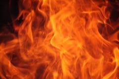Pożarniczy płomienia tło Fotografia Stock