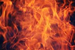 Pożarniczy płomienia tło Obraz Stock