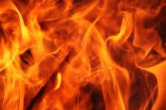 Pożarniczy płomienia tło Obrazy Royalty Free