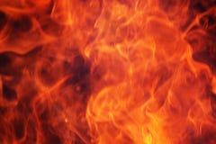 Pożarniczy płomienia tło Zdjęcia Stock