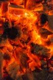 Pożarniczy płomienia tło Obrazy Stock