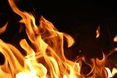 pożarniczy płomienie obrazy stock