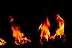 Pożarniczy płonąć obraz stock