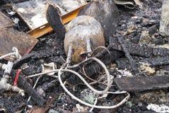 Pożarniczy prętowy wyposażenie Zdjęcia Stock