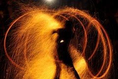 pożarniczy przedstawienie zdjęcie royalty free