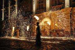 Pożarniczy przedstawienie 23 Zdjęcia Stock