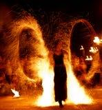 Pożarniczy przedstawienie 15 Zdjęcia Royalty Free