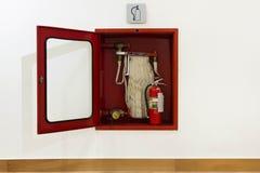 Pożarniczy pudełko obraz royalty free