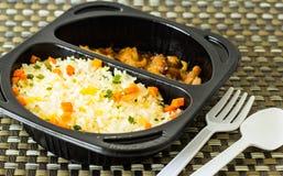 Pożarniczy ryż Fotografia Royalty Free