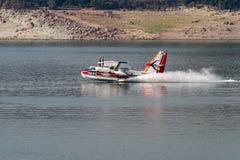 Pożarniczy samolot Fotografia Stock