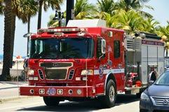 Pożarniczy silnik, ciężarówka Fotografia Royalty Free