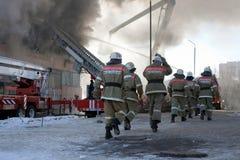 pożarniczy strażak Zdjęcia Royalty Free