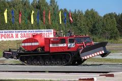 Pożarniczy terenu pojazd zdjęcia stock