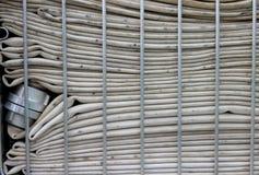 Pożarniczy wąż elastyczny Zdjęcia Stock