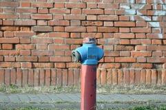 Pożarniczy wodny hydrant fotografia stock
