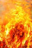 pożarniczy zagrożenie Zdjęcia Royalty Free