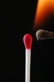 pożarniczy zapałczany wosk Zdjęcia Stock