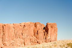 pożarniczych formacj rockowa dolina Obrazy Stock