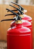 Pożarniczych gasideł zamknięty up obraz stock