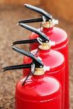 Pożarniczych gasideł zamknięty up fotografia stock
