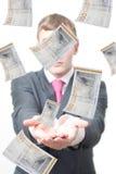 pożyczanie pieniądze zdjęcie stock