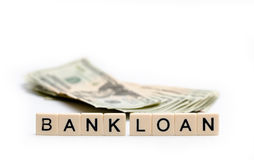 Pożyczka Z Banku obraz royalty free