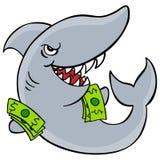 pożyczkowy rekin royalty ilustracja