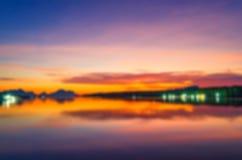 Połów, morze, niebo Fotografia Stock